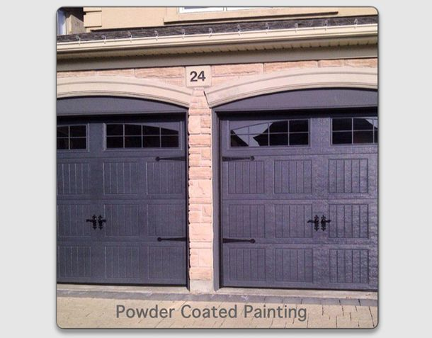 Powder coated painting