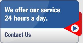 We offer our service 24 hours a day